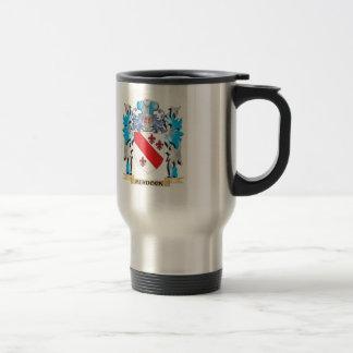 Murdock Coat of Arms - Family Crest Stainless Steel Travel Mug
