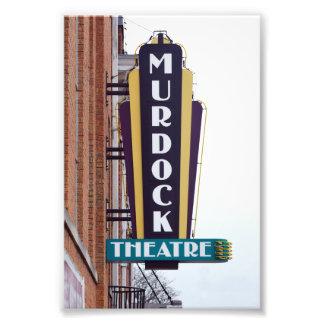 Murdock Theatre Sign, Wichita, Kansas Photo