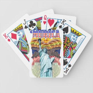 MURICA American pride liberty lovin folks wear Card Decks
