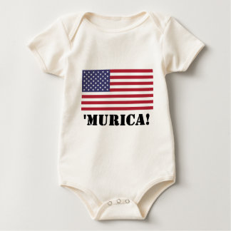 Murica Baby Bodysuit