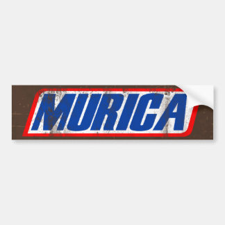 Murica Bumper Sticker