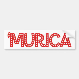 'Murica Bumper Sticker
