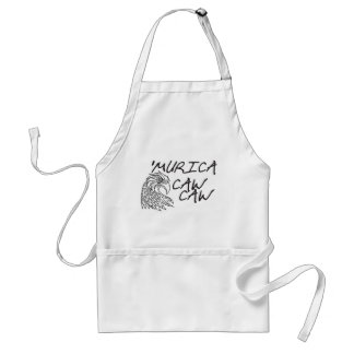 Murica CAW CAW Adult Apron