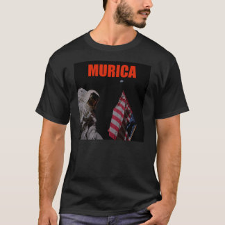Murica conquers the moon T-Shirt