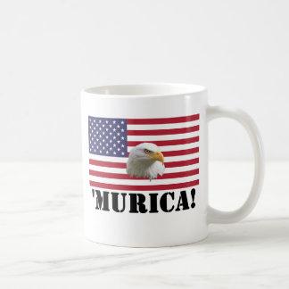 Murica Eagle Basic White Mug