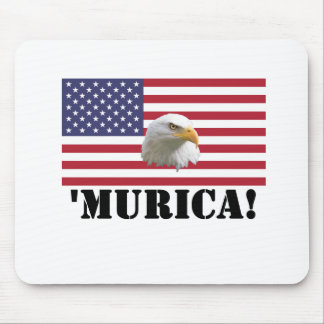 Murica Eagle Mouse Pad