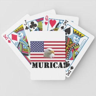 Murica Eagle Poker Cards