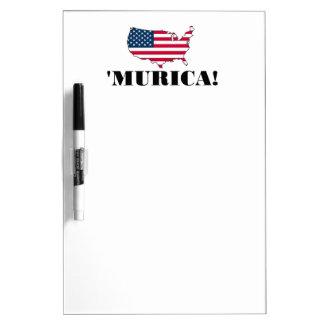 Murica Flag Dry Erase Boards