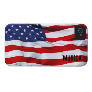 'MURICA Flag iPhone 4 Case-Mate Cases