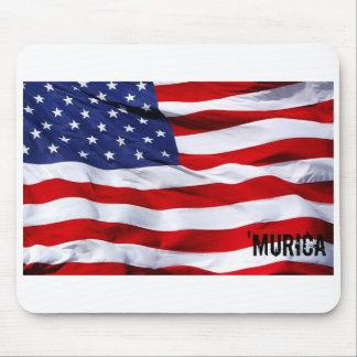 ` murica flag mouse pad