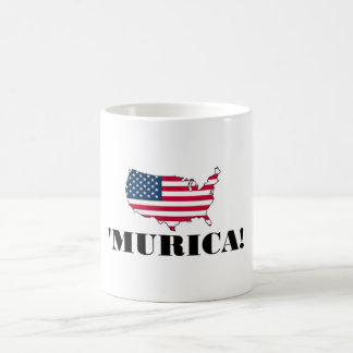 Murica Flag Coffee Mug