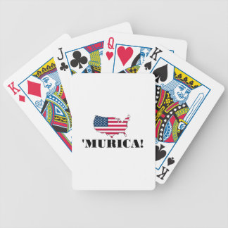 Murica Flag Playing Cards