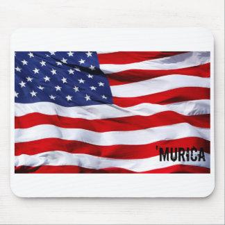 `murica flag tapetes de ratón
