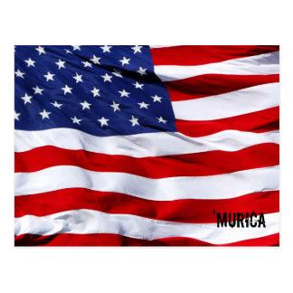 MURICA Flag Tarjetas Postales