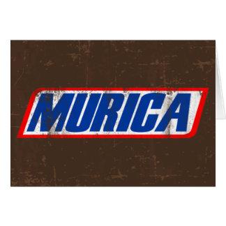 Murica Greeting Card