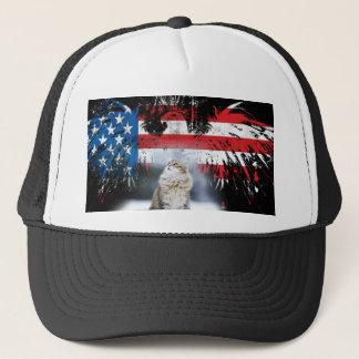 Murica Kitten Trucker Hat