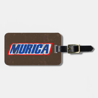 Murica Tag For Luggage