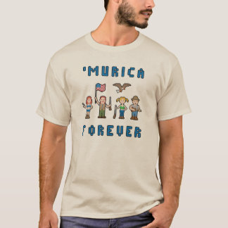 'Murica Pixel Team T-Shirt