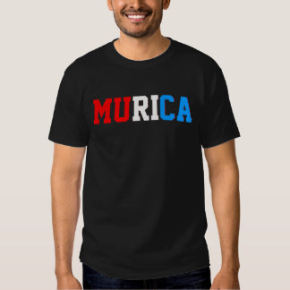 Murica Red White and Blue Shirt