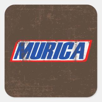 Murica Square Sticker