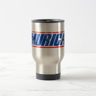 Murica Stainless Steel Travel Mug