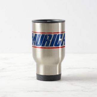 Murica Stainless Steel Travel Mug