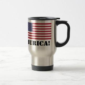 'Murica! Stainless Steel Travel Mug