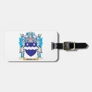 Murillo Coat of Arms - Family Crest Bag Tag