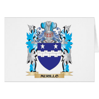 Murillo Coat of Arms - Family Crest Cards