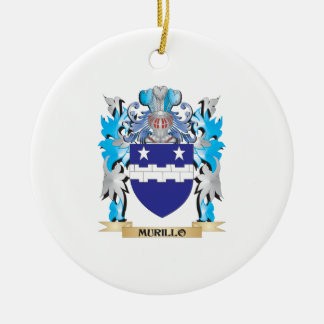 Murillo Coat of Arms - Family Crest Christmas Ornament