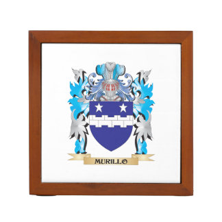 Murillo Coat of Arms - Family Crest Desk Organizer