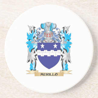 Murillo Coat of Arms - Family Crest Drink Coaster
