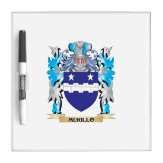 Murillo Coat of Arms - Family Crest Dry Erase Whiteboards