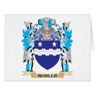 Murillo Coat of Arms - Family Crest Greeting Card