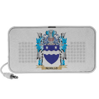 Murillo Coat of Arms - Family Crest iPhone Speaker