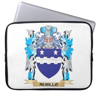 Murillo Coat of Arms - Family Crest Laptop Sleeve