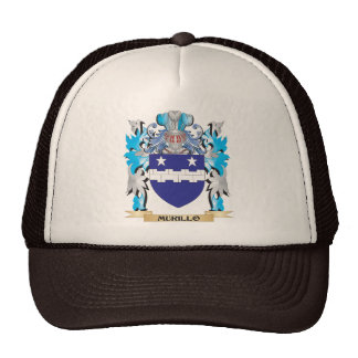 Murillo Coat of Arms - Family Crest Mesh Hats