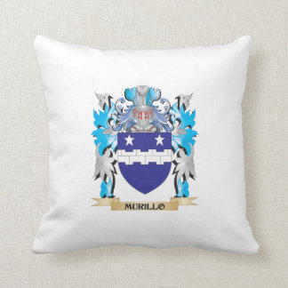 Murillo Coat of Arms - Family Crest Throw Pillows