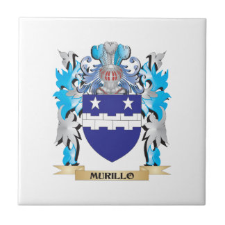 Murillo Coat of Arms - Family Crest Tile