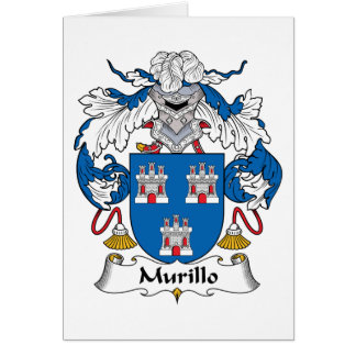 Murillo Family Crest Greeting Cards