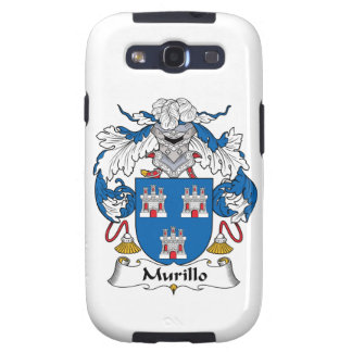 Murillo Family Crest Samsung Galaxy S3 Cases