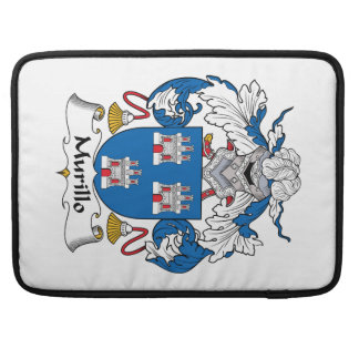Murillo Family Crest Sleeves For MacBook Pro