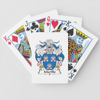 Murillo Family Crest Bicycle Playing Cards