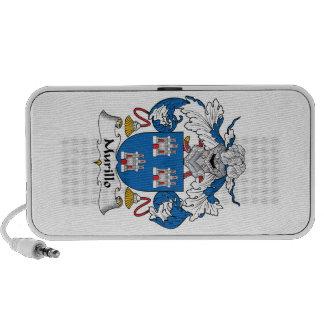 Murillo Family Crest Mini Speaker