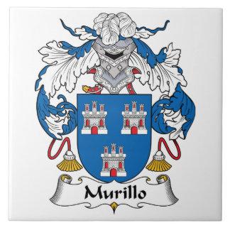 Murillo Family Crest Tiles
