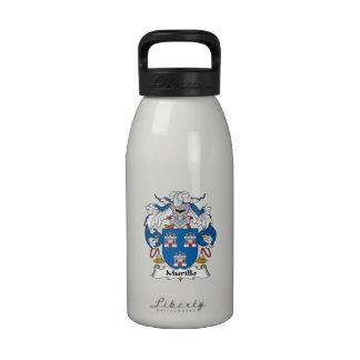 Murillo Family Crest Water Bottles