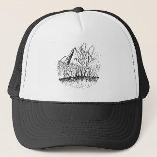 Murmurs the mountain trucker hat