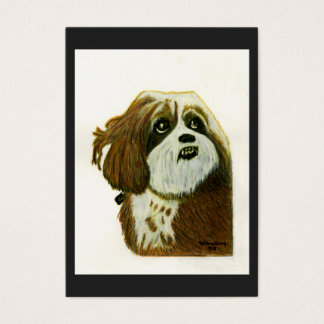 Murphy 1 Dog jGibney The MUSEUM Zazzle Gift Business Card