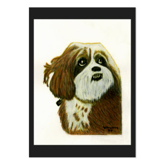 Murphy 1 Dog jGibney The MUSEUM Zazzle Gift Pack Of Chubby Business Cards