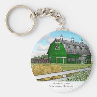 Murphy Barn Key Ring